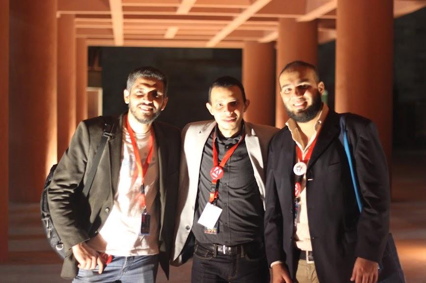 Mostafa Farahat (Mosti), Ahmed Rabiah, and Mohamed Shehata